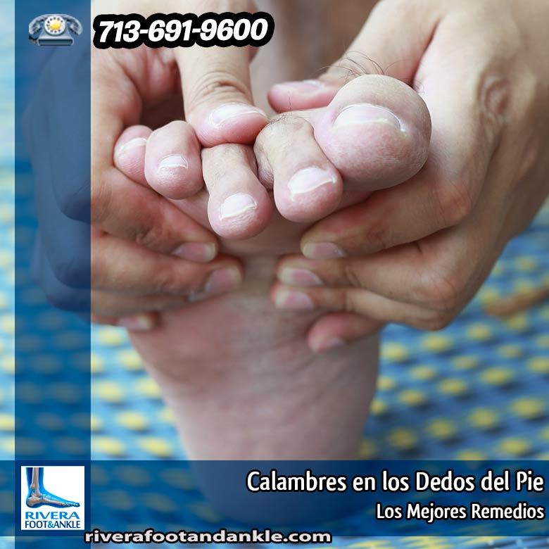 Calambres en los Dedos del Pie - Rivera Foot and Ankle